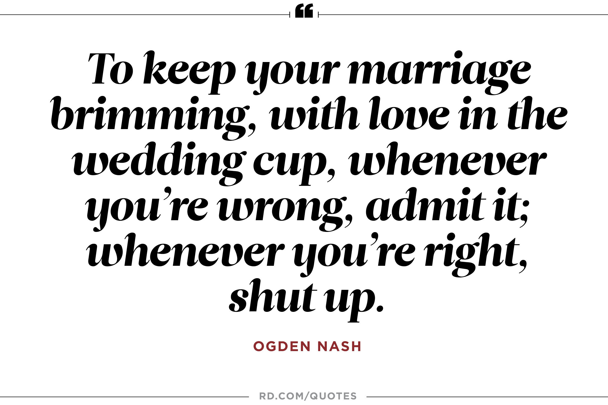 Quotes Of Marriage  8 Funny Marriage Quotes From the Greatest Wits of All Time