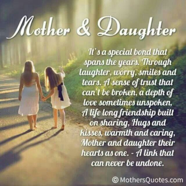 Quotes On Mothers And Daughters  Mother daughter quotes cute