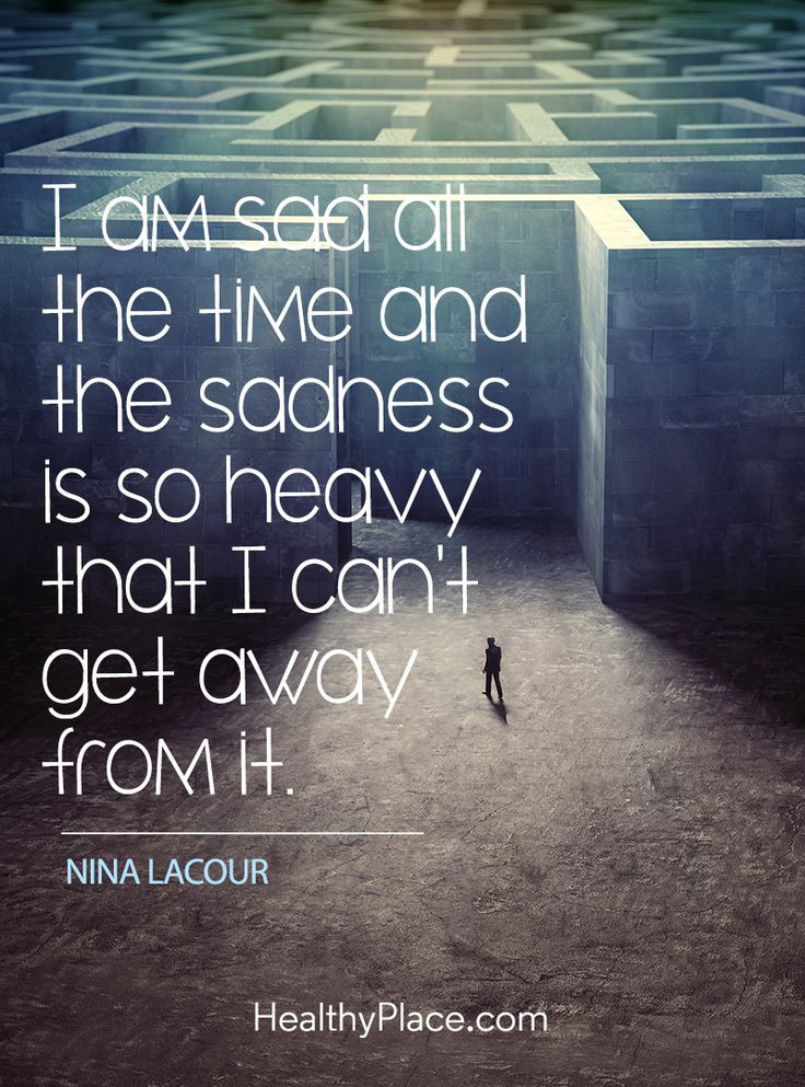 Quotes Sad  25 best Quotes on depression on Pinterest