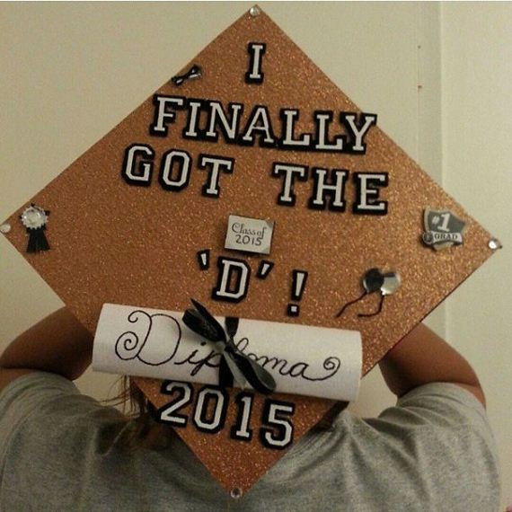 Quotes To Put On Graduation Cap  Awesome Students Who Totally Nailed It With Their Funny