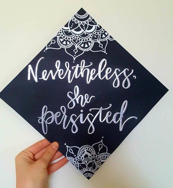 Quotes To Put On Graduation Cap  Custom Graduation Caps Cap quotes Grad Cap Decorative