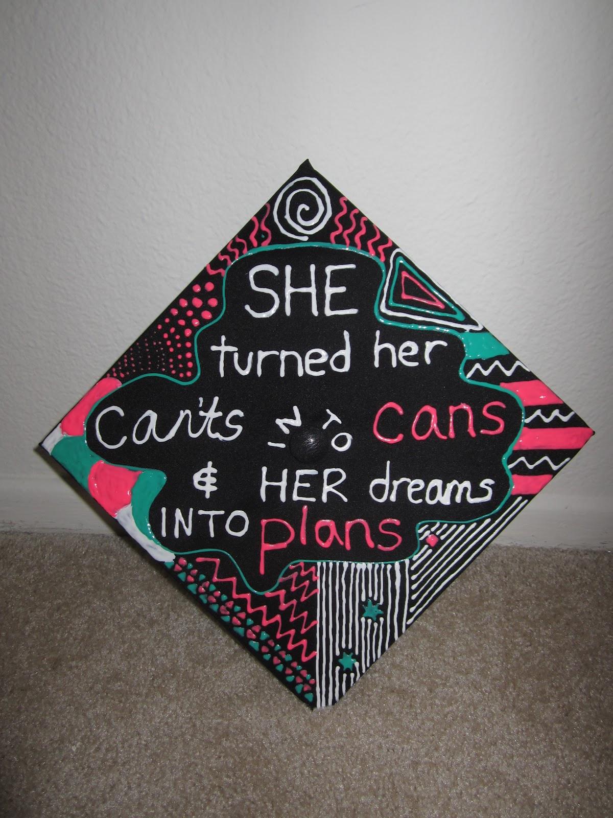 Quotes To Put On Graduation Cap  Graduation Cap Quotes QuotesGram