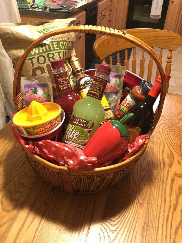 Raffle Gift Basket Ideas  Best 25 Margarita t baskets ideas on Pinterest