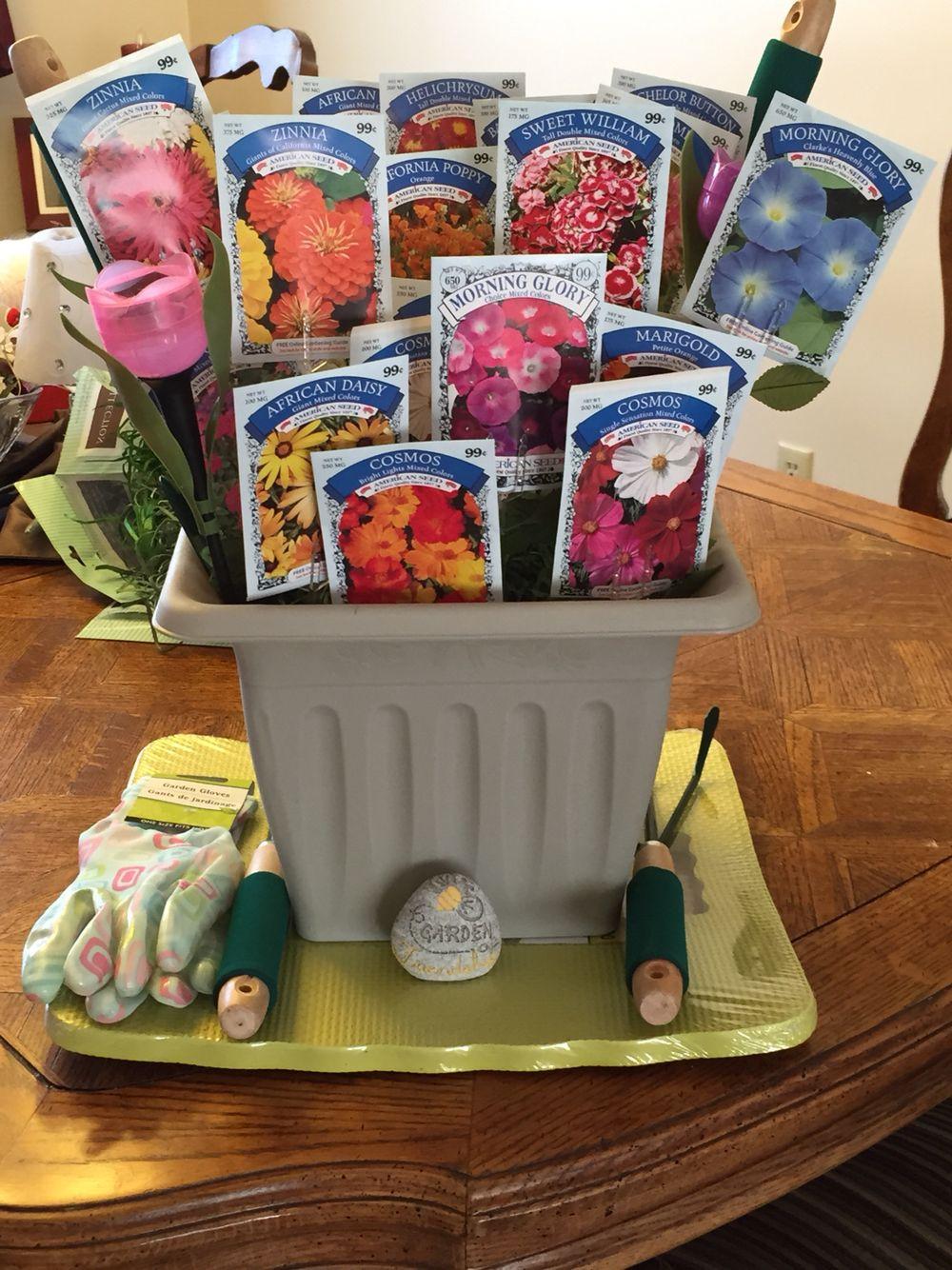 Raffle Gift Basket Ideas  Thinking spring raffle basket Crafts