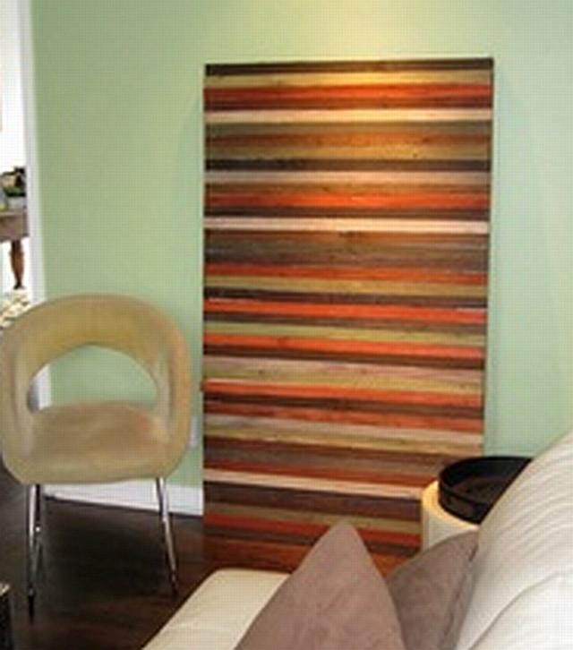 Reclaimed Wood Wall Art DIY  Sunset Coast DIY Reclaimed Wood Wall Art