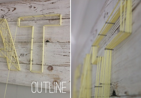 Reclaimed Wood Wall Art DIY  Reclaimed Wood DIY Projects for Home
