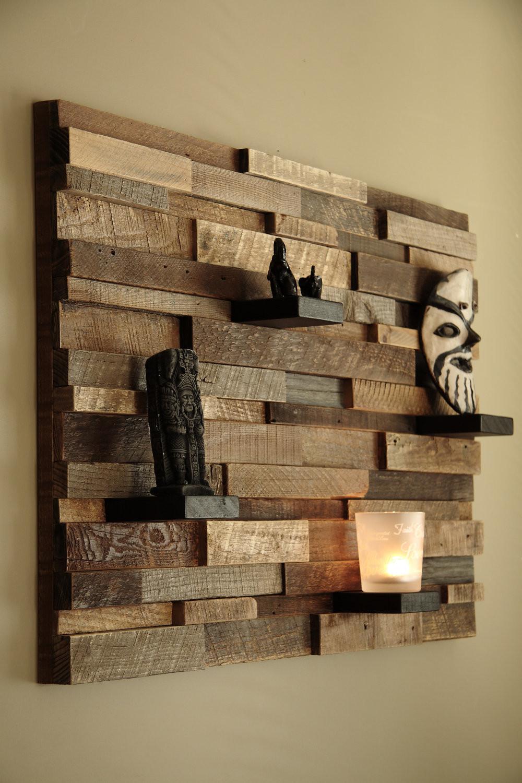 Reclaimed Wood Wall Art DIY  Outstanding Reclaimed Wood Wall Art Style Motivation