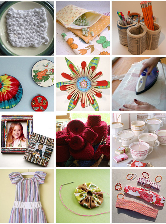 Recycled Craft Ideas For Adults  recycled crafts – Page 4 – the long thread