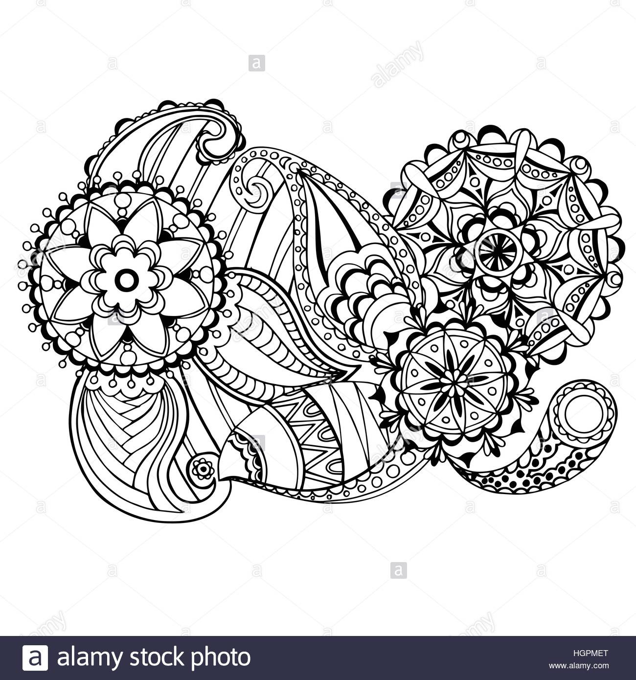 Relaxing Coloring Pages For Kids  Page for coloring book very interesting and relaxing job