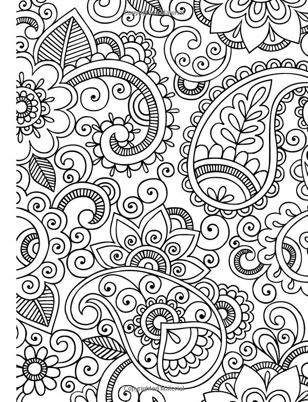 Relaxing Coloring Pages For Kids  RELAXING Colouring Book