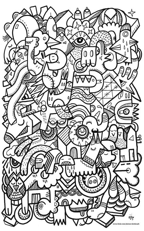 Relaxing Coloring Pages For Kids  Relaxing Mr Bean Free Cartoon Coloring Pages bell