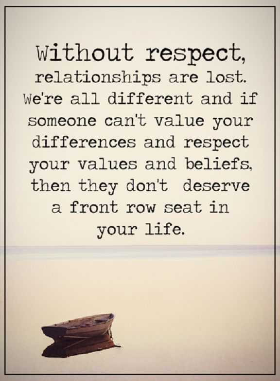 Respect Relationship Quotes  Relationship Quotes Life thoughts Without Respect