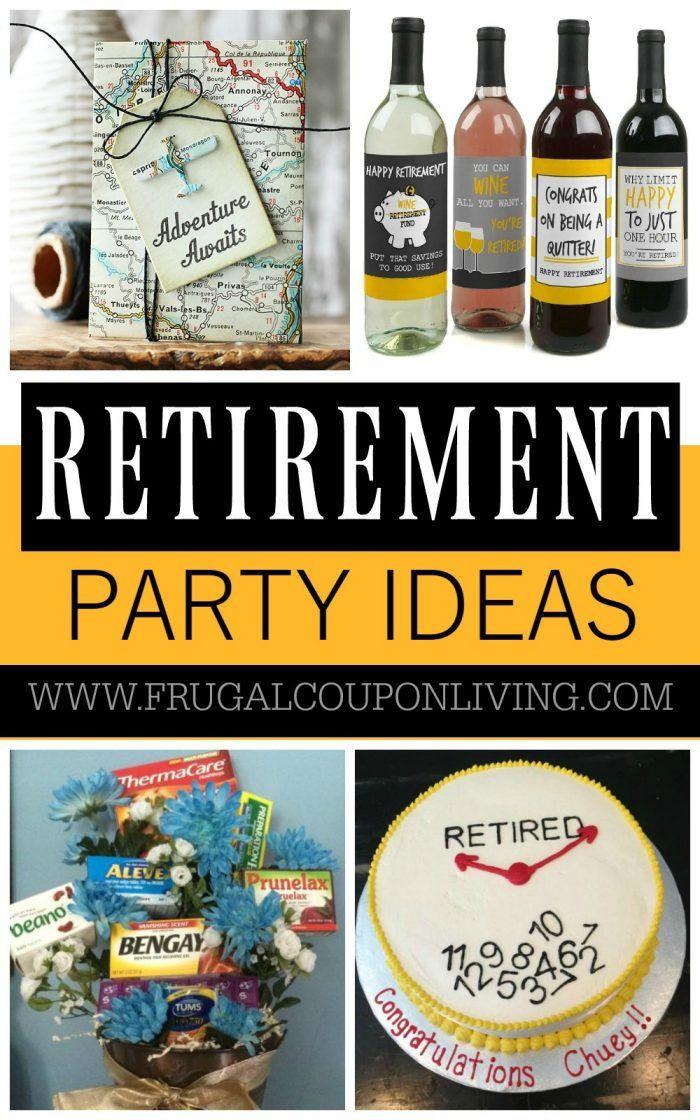 Retirement Party Favor Ideas  Retirement Party Ideas