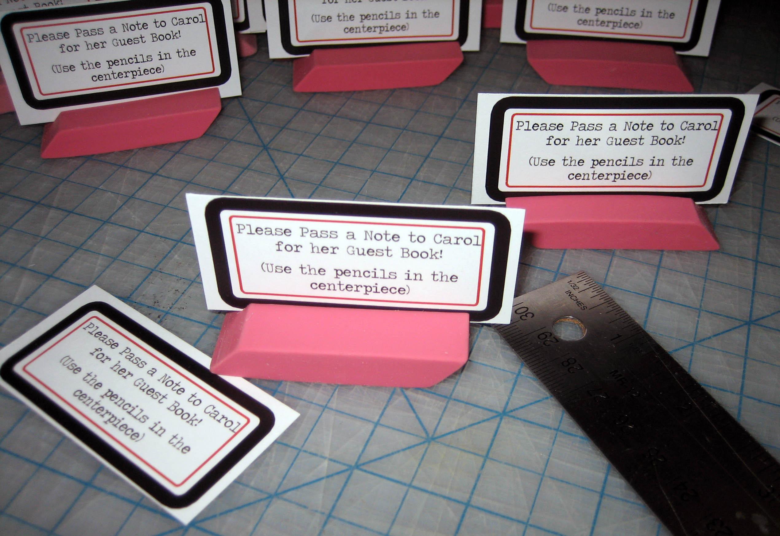 Retirement Party Guest Book Ideas  Eraser