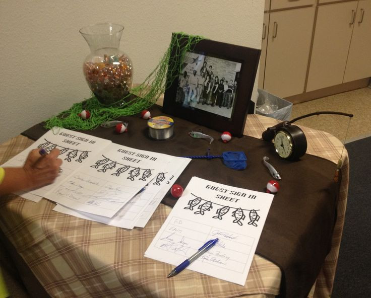 """Retirement Party Guest Book Ideas  7 best images about Fisherman Retirement Party """" f the"""