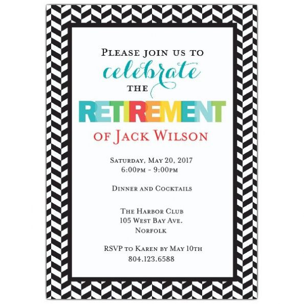 Retirement Party Invitation Wording Ideas  Pin by Ariqa Media on Baby shower Wedding Graduation