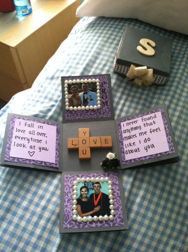 Romantic Homemade Gift Ideas For Boyfriend  21 DIY Romantic Gifts For Girlfriend You Can t Miss Feed