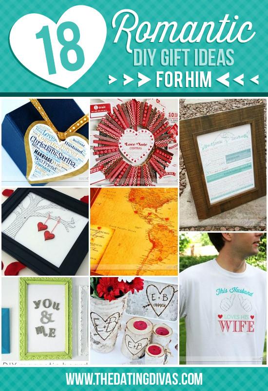 Romantic Homemade Gift Ideas For Boyfriend  50 Romantic Gift Ideas for Him