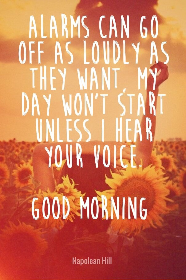 Romantic Morning Quotes  Good Morning Love Quotes for Her & Him with Romantic