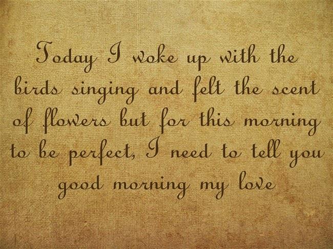 Romantic Morning Quotes  Romantic Good Morning Quotes