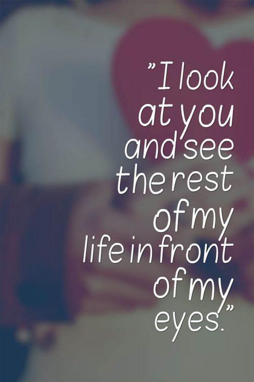 Romantic Quote For Bf  234 Cute Boyfriend Love Quotes to Make Him Smile BayArt