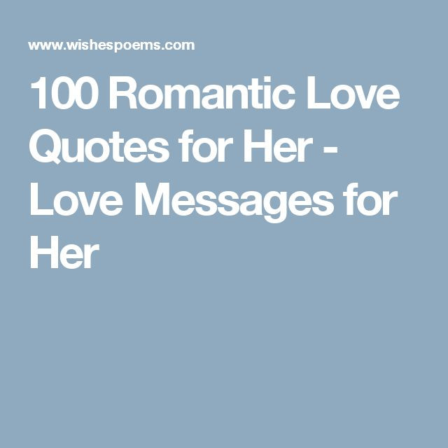 Romantic Quotes Her  Best 25 Love messages for her ideas on Pinterest