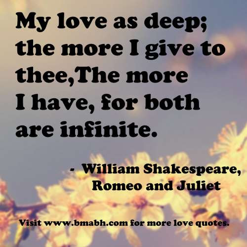 Romeo And Juliet Marriage Quotes  PARENTAL LOVE QUOTES ROMEO AND JULIET image quotes at