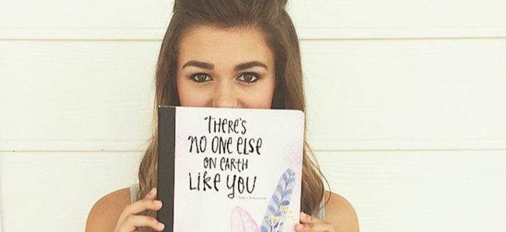 Sadie Robertson Quotes  Duck Dynasty's Sa Robertson Launches Inspirational
