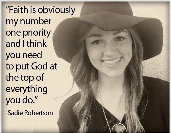 Sadie Robertson Quotes  Sa Robertson Christian Teen Advice – Chelsea Crockett