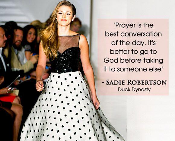 Sadie Robertson Quotes  Sa Robertson Quotes QuotesGram