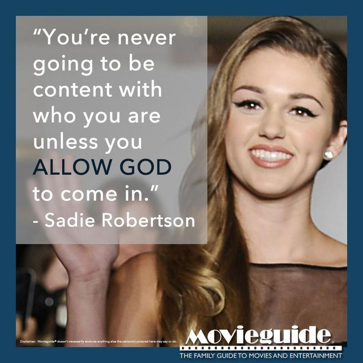 Sadie Robertson Quotes  17 Best ideas about Sa Robertson on Pinterest
