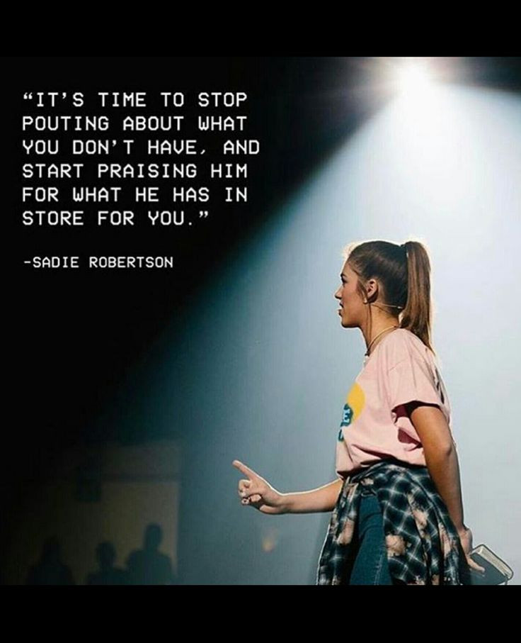 Sadie Robertson Quotes  Best 25 Quotes about plaining ideas on Pinterest