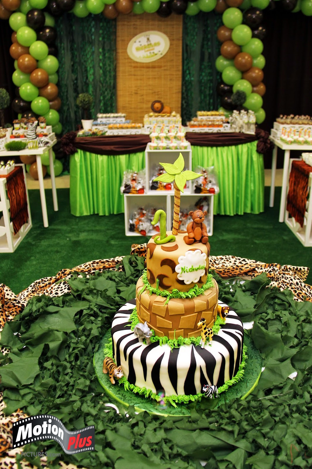 Safari Birthday Party Decorations  Motion Plus Safari Themed Birthday Party Ideas