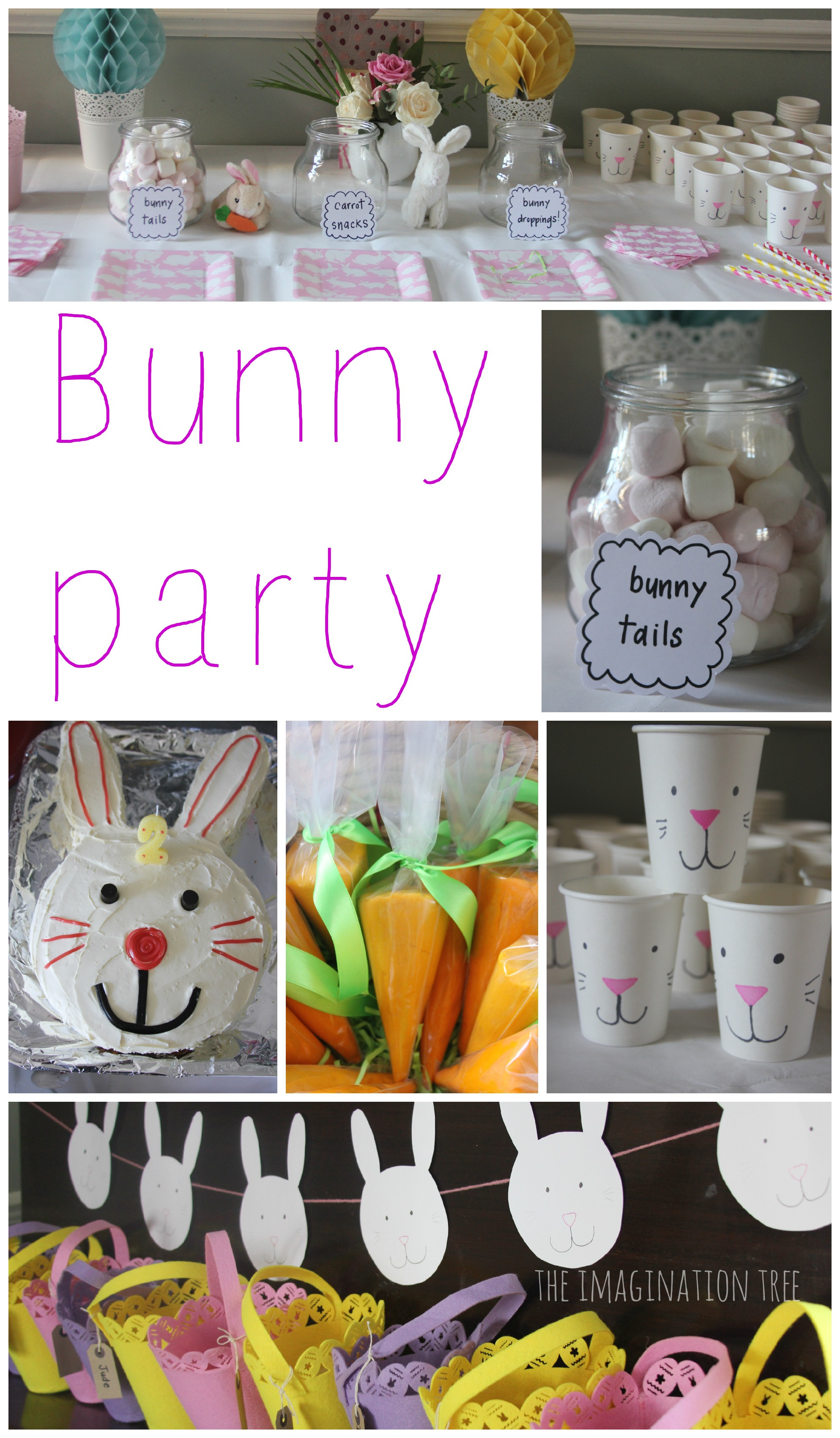School Easter Party Food Ideas  Bunny Birthday Party The Imagination Tree