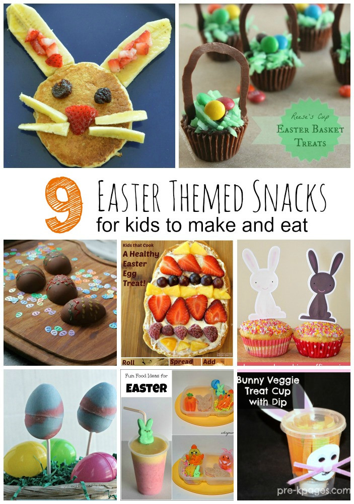 School Easter Party Food Ideas  Easter Snacks for Kids and the Books to Read with Them