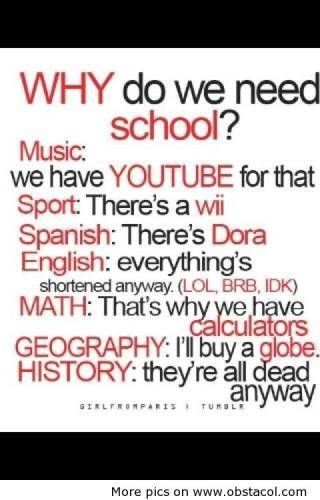 School Quote Funny  Best 25 Funny quotes about school ideas on Pinterest