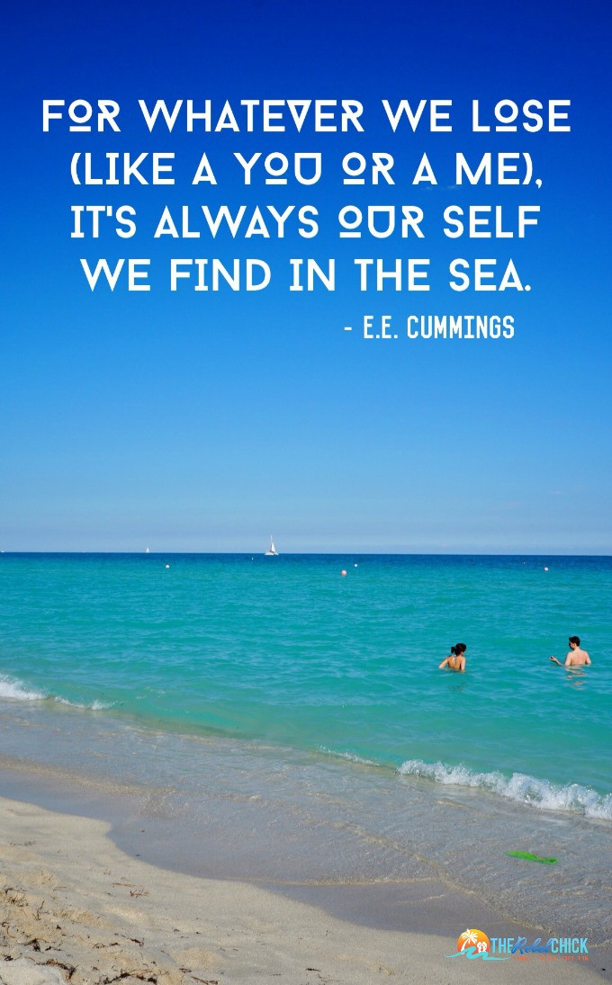 Sea Love Quote  Live in the Sunshine Quotes About the Sea The Rebel Chick