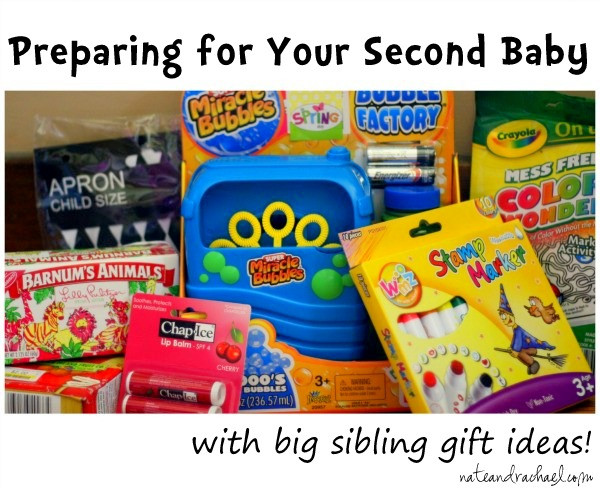 Second Baby Gift Ideas  Second Time Around Preparing for the Second Baby
