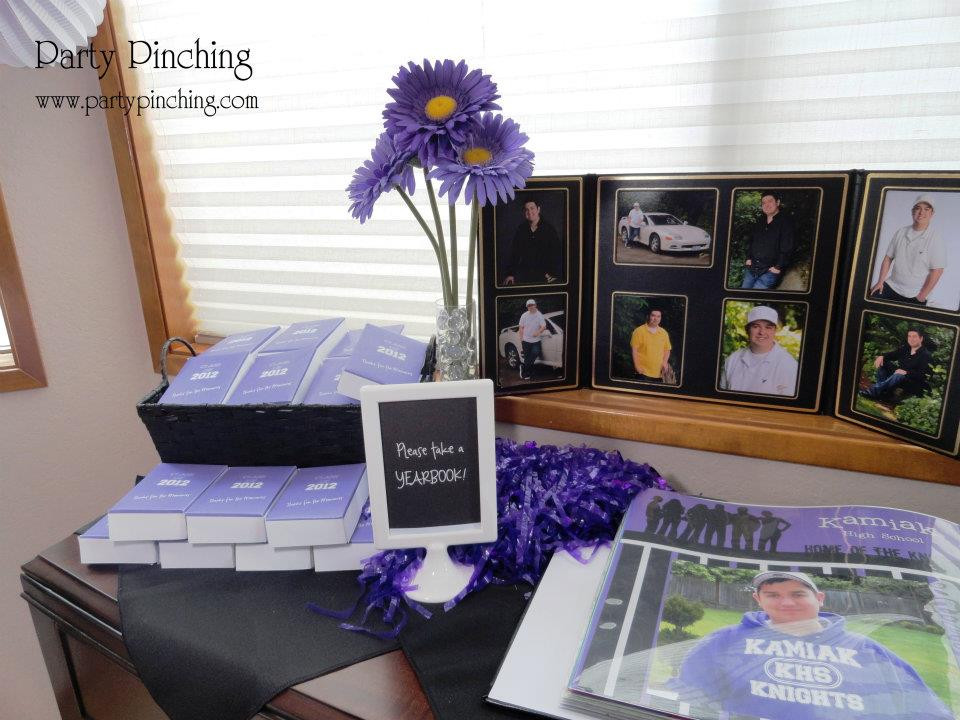 Senior Graduation Party Ideas  High School Graduation Open House Party Party Pinching