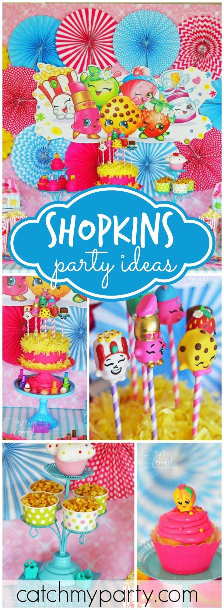 Shopkins Pool Party Ideas  25 best Shopkins Party Ideas on Pinterest
