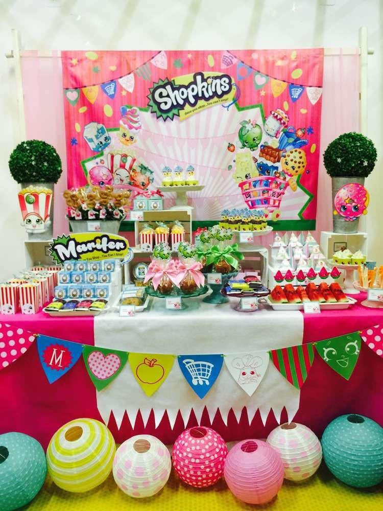 Shopkins Pool Party Ideas  SHoPKINS Birthday Party Ideas 1 of 18