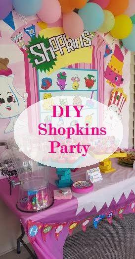 Shopkins Pool Party Ideas  Mrs Sheets & Co DIY Shopkins Birthday Party