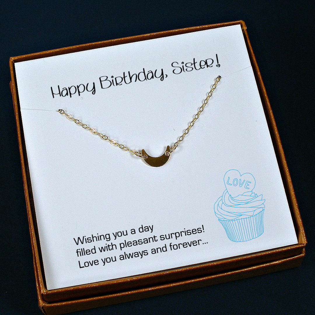 Sister Birthday Gifts Ideas  Sister Birthday Gift Sister Necklace Sister Gift Ideas