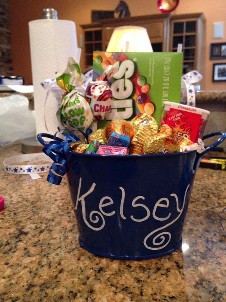 Small Gift Basket Ideas  10 ideas about Cheer Sister Gifts on Pinterest