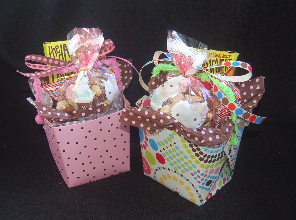 Small Gift Basket Ideas  Lynn s Craft Blog Easy Take out Gift Baskets