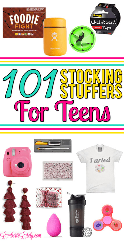 Small Gift Ideas For Boys  101 Stocking Stuffers for Teens