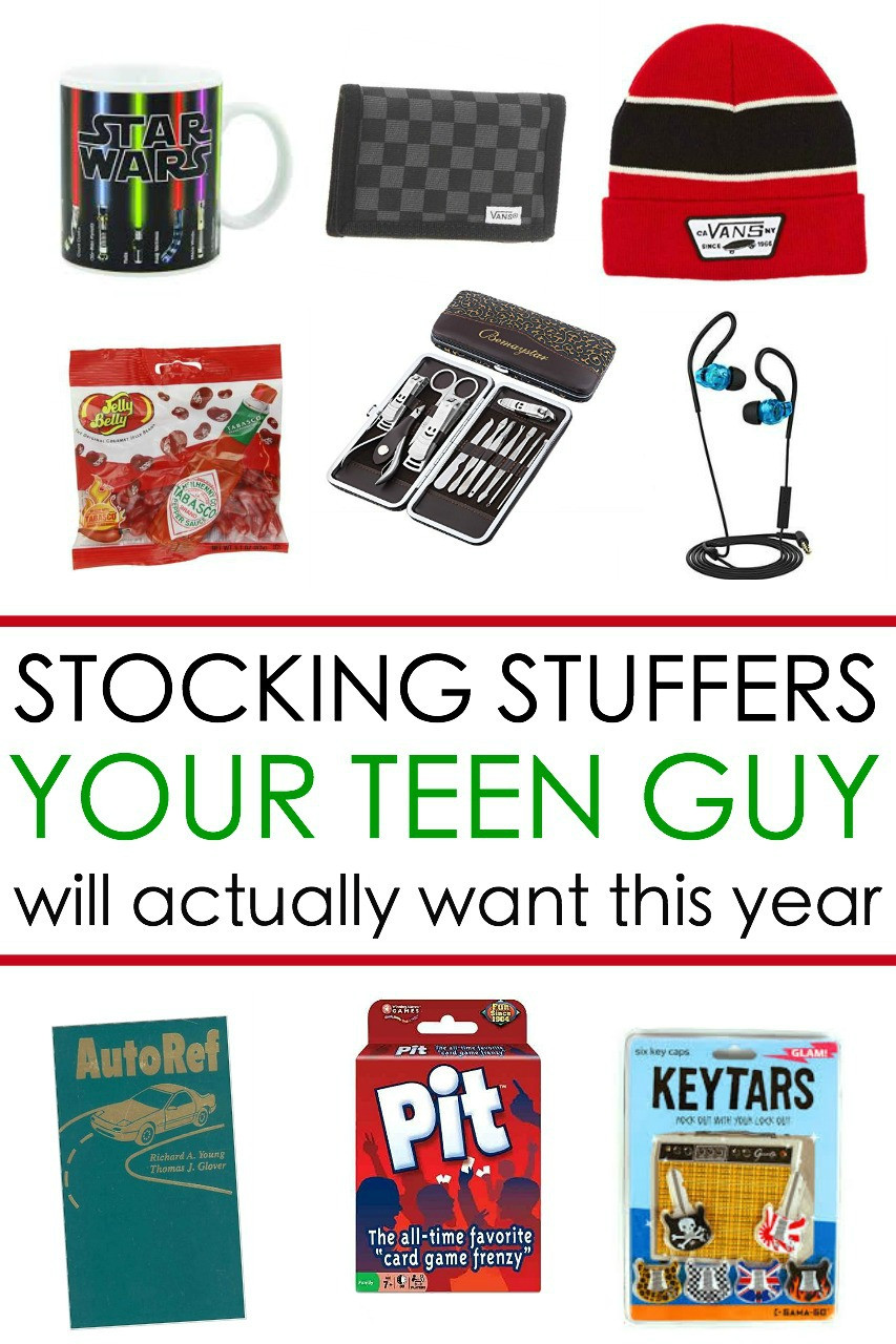 Small Gift Ideas For Boys  65 Awesome Stocking Stuffers for a Teen Guy Teen Boy Gift