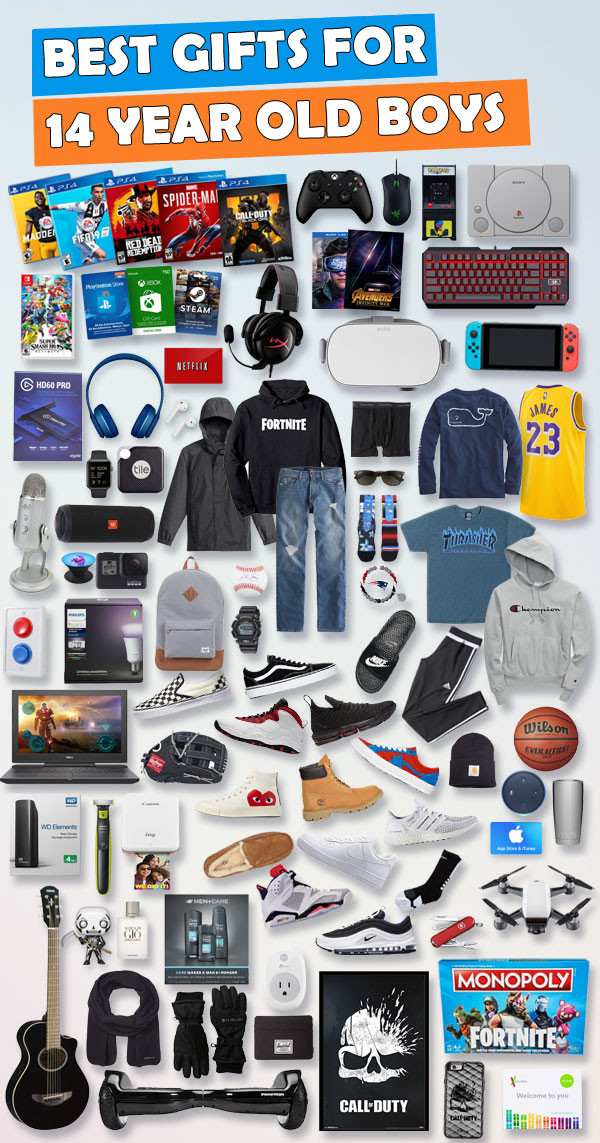 Small Gift Ideas For Boys  Gifts For 14 Year Old Boys [Over 150 Gifts ]