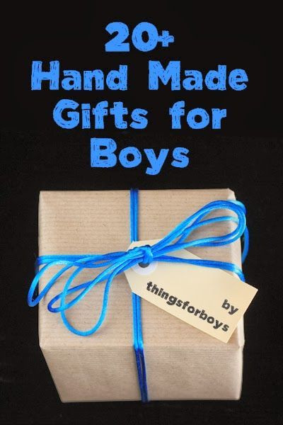 Small Gift Ideas For Boys  20 Handmade Gift Ideas for Boys things for boys