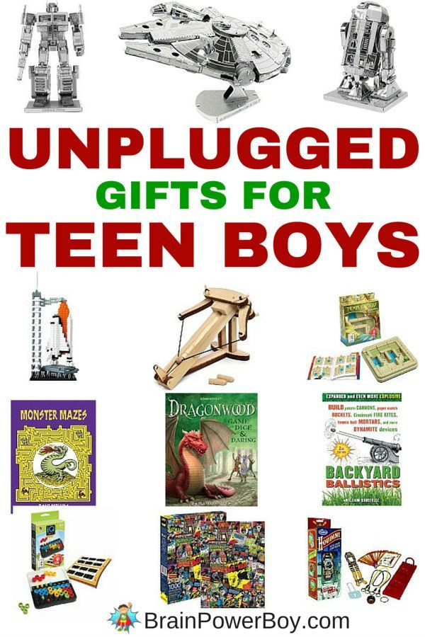 Small Gift Ideas For Boys  Amazing Inexpensive Gifts for Teen Boys Unplugged